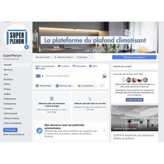 Page entreprise Facebook /...